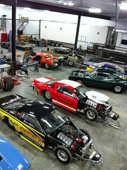 Garret Livingston Race Cars