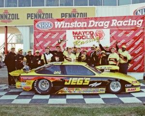 Jeg Coughlin Jr. won his first professional event title at the 1997 Houston race.