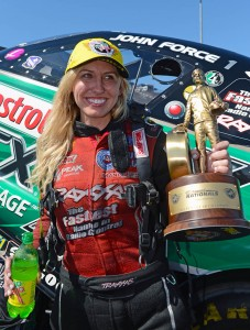 Courtney Force - Win, Sonoma - Gary Nastase