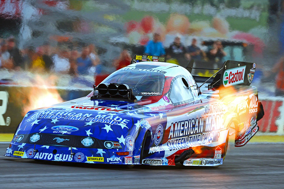 John Force Racing Dragstory