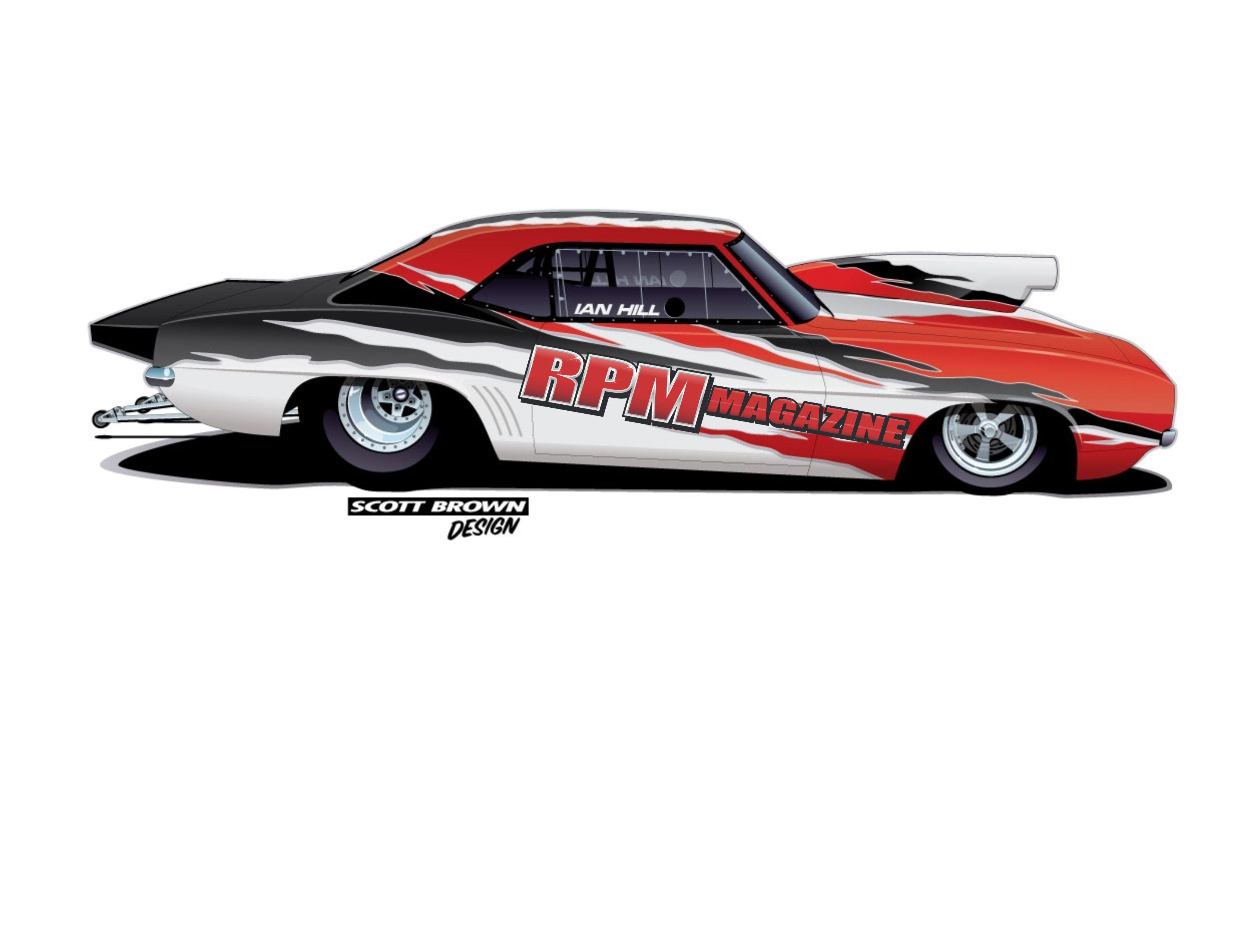 Race Car Paint Schemes