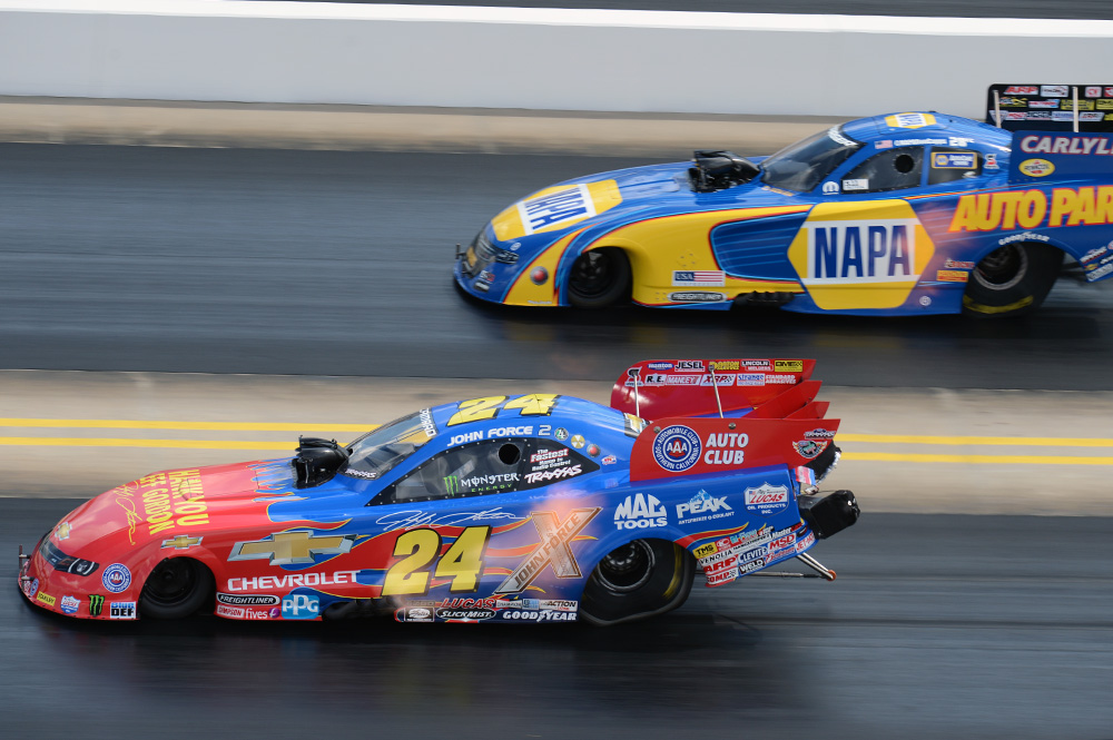 John Force Races To Semi Finals At Carolina Nationals