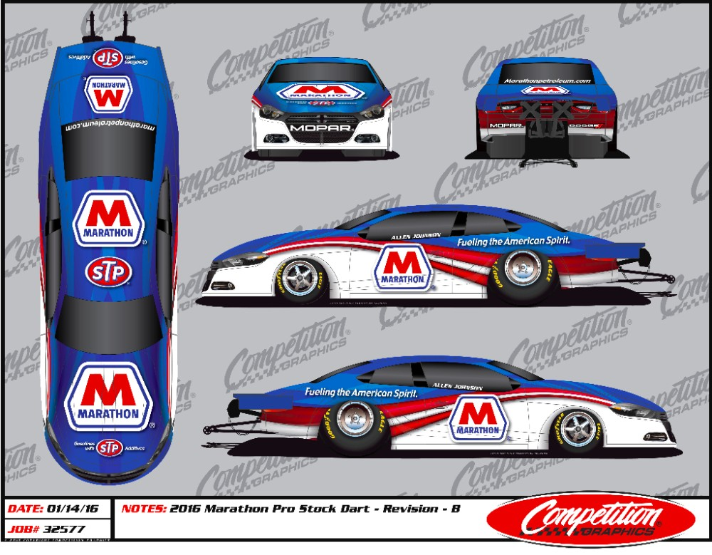 NHRA Champion Allen Johnson, Marathon Petroleum Announce Sponsorship ...