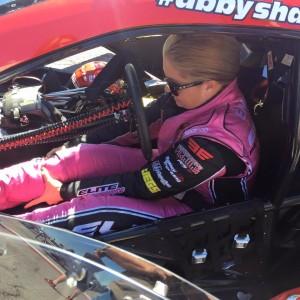 Erica Enders-Stevens - Racing In Red
