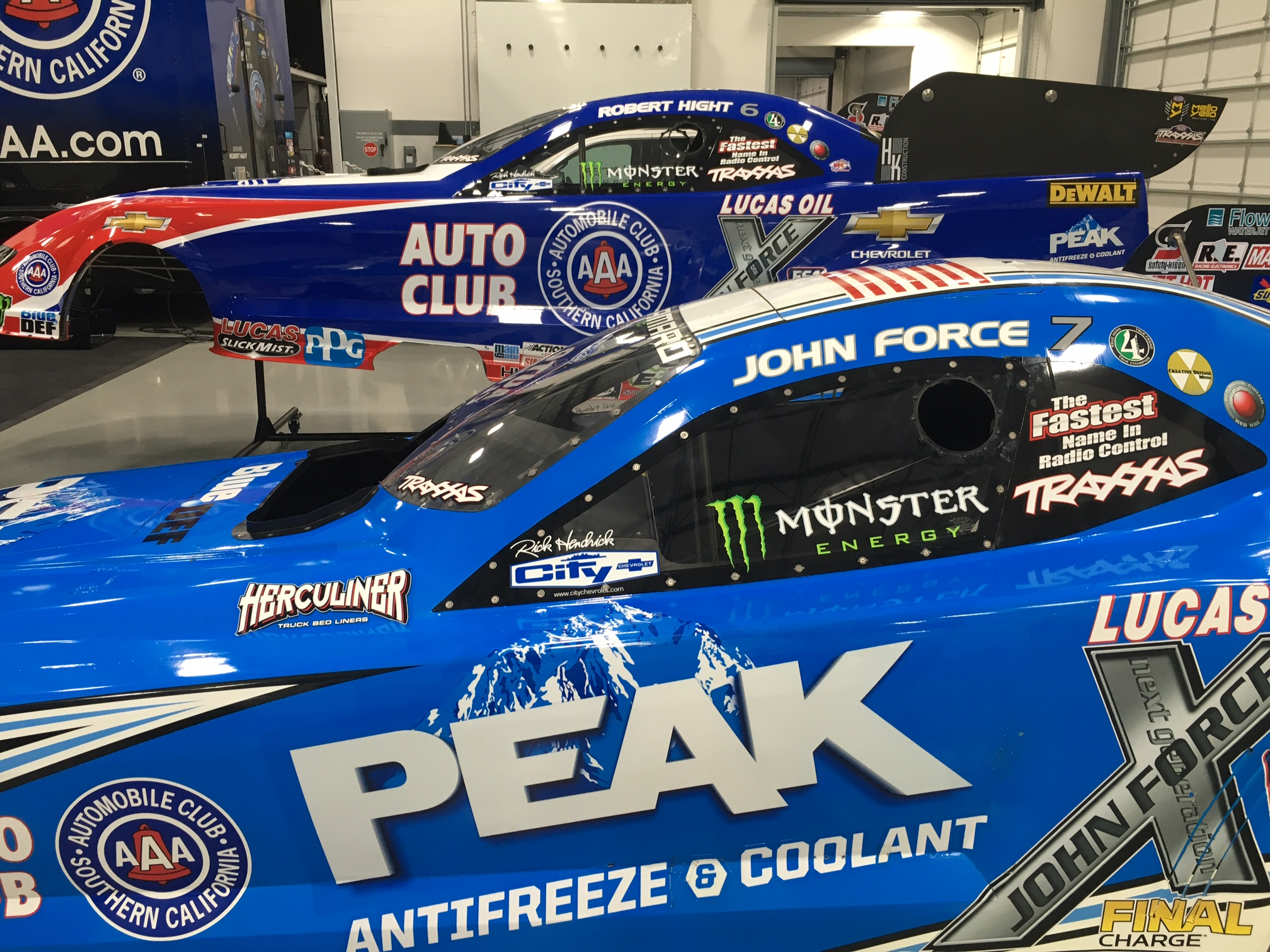 JOHN FORCE RACING TEAMS UP WITH RICK HENDRICK CITY CHEVROLET