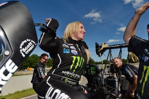 Brittany Force - 2016 Brainerd, Sunday - Gary Nastase