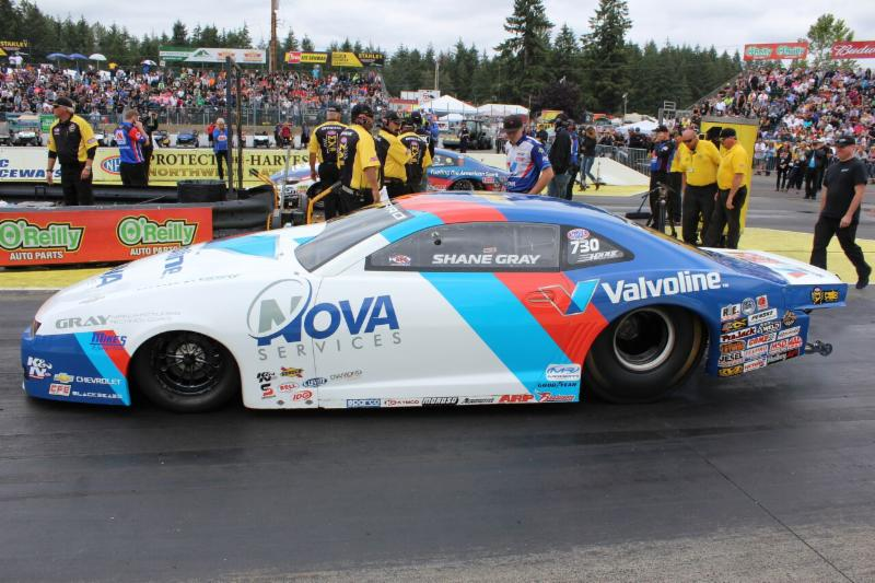 Punching Ticket To Nhra Playoffs Next Item On Shane Gray S To Do