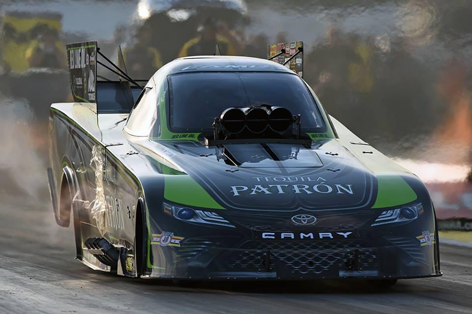 Dejoria Pilots Camry To Brainerd Funny Car Win Dragstory Com