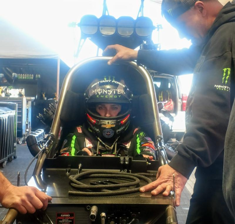 BRITTANY FORCE PLANS TO RACE AT NHRA ARIZONA NATIONALS