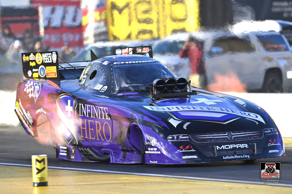 Tony Schumacher and Jack Beckman Lead Friday Qualifying at the NH…