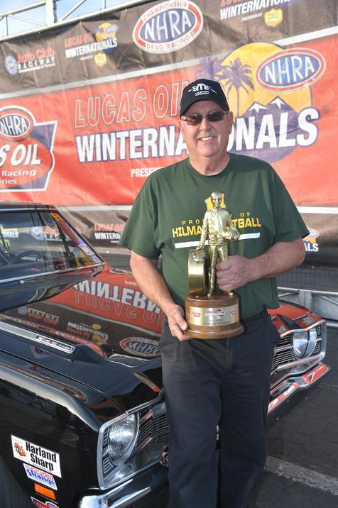 Gilley Scores Stock Eliminator win in 1969 Dodge Dart GTS 340