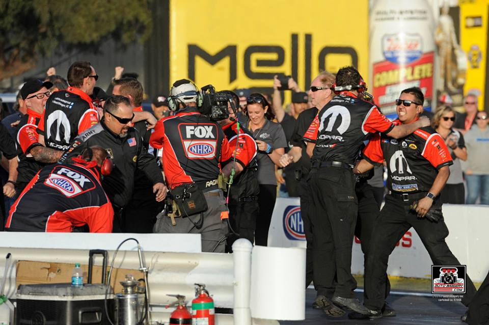 Mopar Dodge Charger R/T Funny Car Driver Hagan Triumphs at Season…