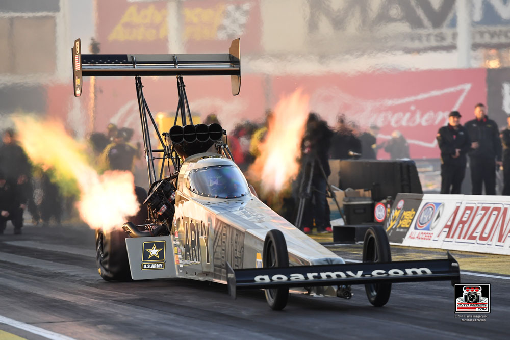 U.S. Army NHRA Racing 34th Annual NHRA Arizona Nationals Friday Q…