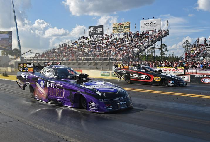 Mopar-powered Driver Beckman Wins All-Dodge Charger R/T Funny Car…