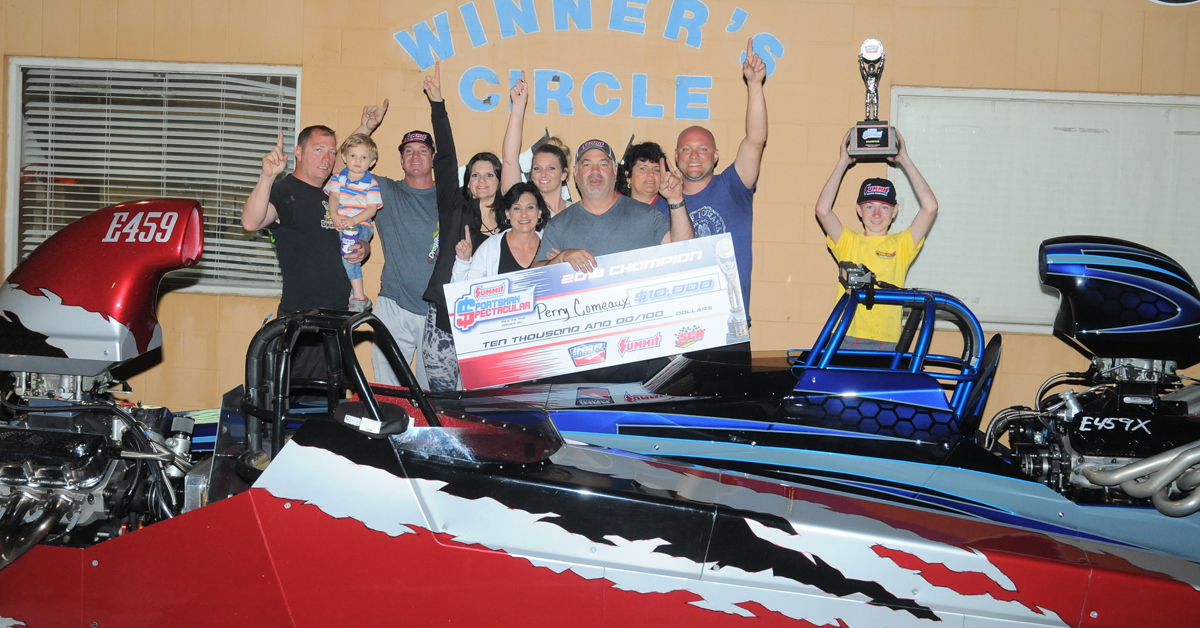 Comeaux, Hughes Make History at IHRA Summit Sportsman Spectacular