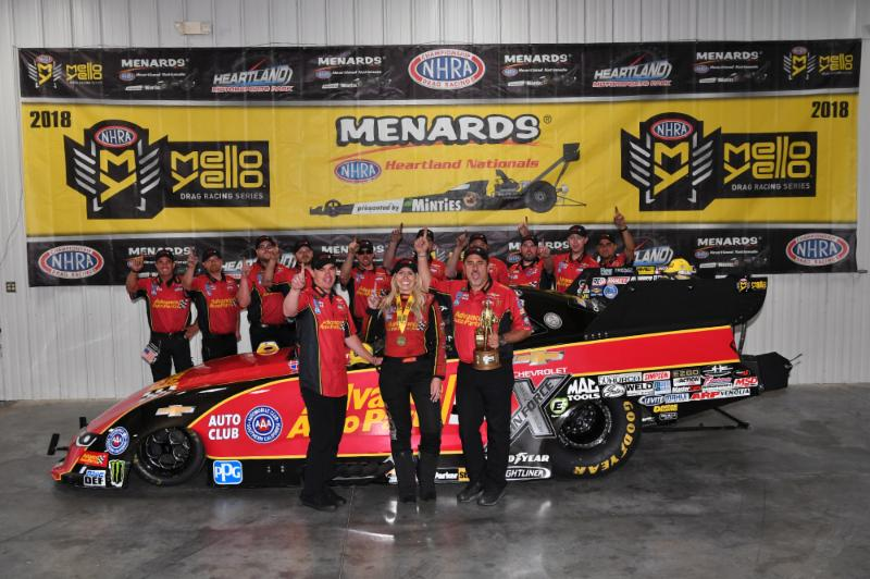 COURTNEY FORCE EARNS FIFTH NO. 1 QUALIFIER OF THE SEASON AT MENAR…