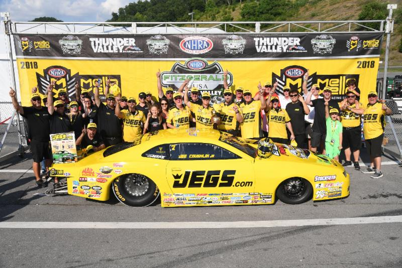JEGS.com driver Jeg Coughlin Jr. takes Pro Stock title in Bristol…