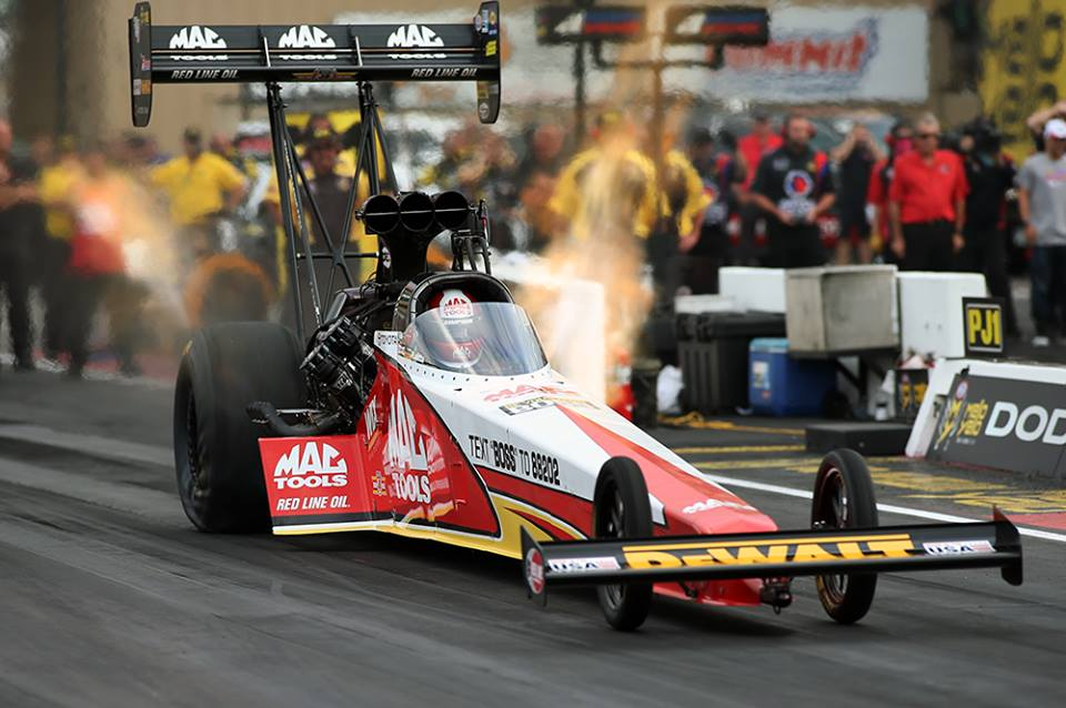 KALITTA, TOYOTA ADVANCE TO TOP FUEL FINALS AT NHRA MILE HIGH NATI…