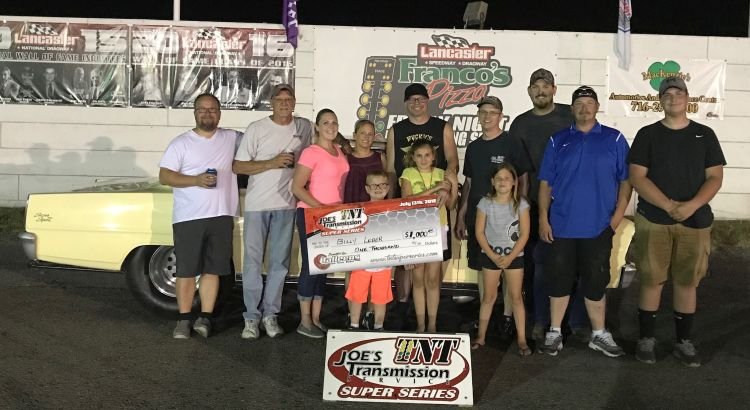 Billy Leber, Harry Phelps – TNT Super Series Winners at Lancaster…