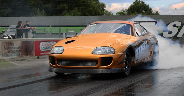 Titan Motorsports Copper Supra preparing for X275 Competition