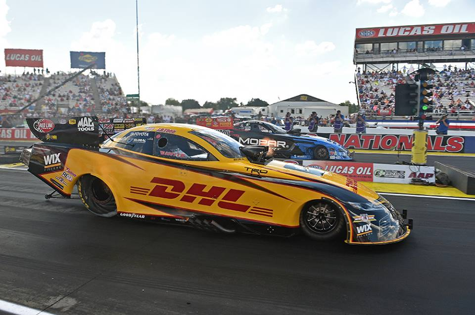 Todd S Camry Qualifies Number One At U S Nationals Dragstory Com