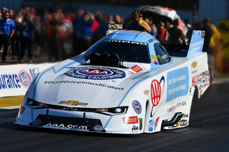 ROBERT HIGHT TAKES AAA MISSOURI CAMARO TO NO. 1 AT AAA INSURANCE…