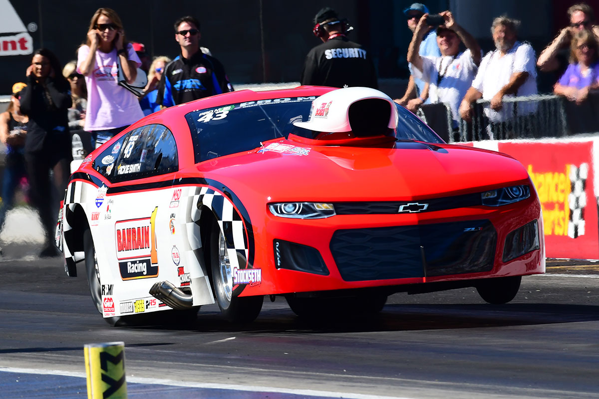 New Nitrous ET & Speed Records for Pat Musi Racing Engines