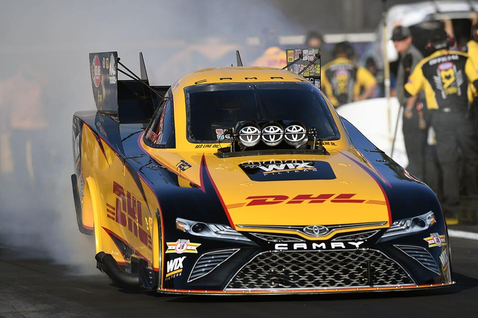 TODD DRIVES CAMRY TO VICTORY IN POMONA; CAPTURES NHRA FUNNY CAR T…