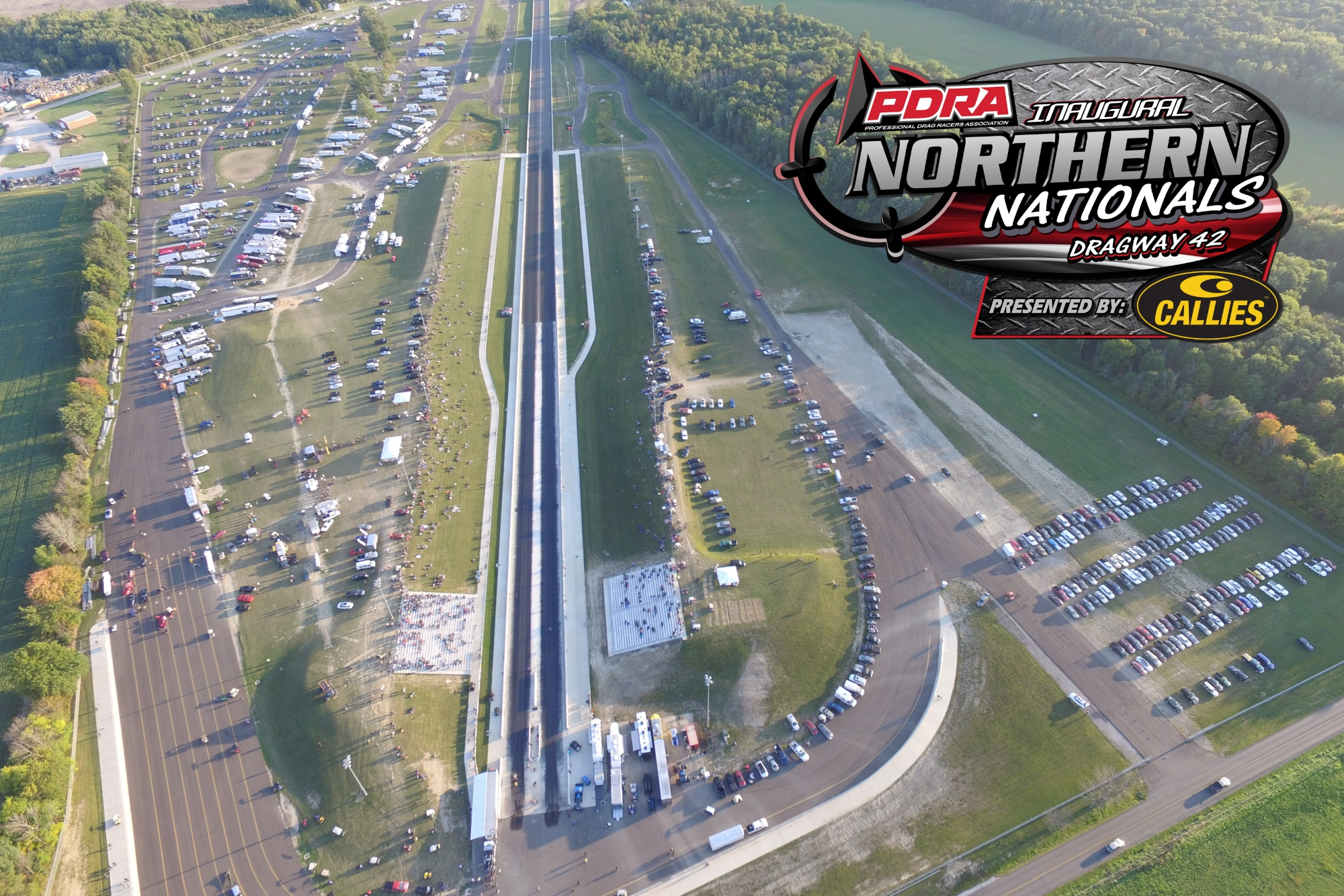 The Inaugural Pdra Northern Nationals Presented Byies Performance Products Will Take Place July 18 20 At Dragway 42